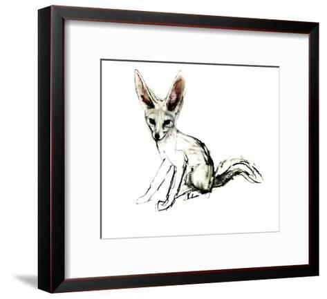 Foxy (Sand Fox), 2009-Mark Adlington-Framed Art Print