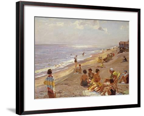 Silver Morning, Aldeburgh, 1932-Algernon Mayow Talmage-Framed Art Print