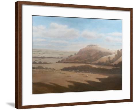 Gloucestershire Landscape, 2012-Lincoln Seligman-Framed Art Print