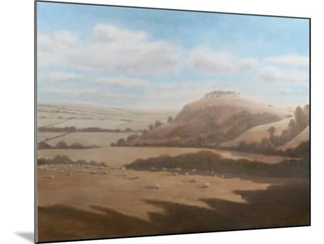 Gloucestershire Landscape, 2012-Lincoln Seligman-Mounted Giclee Print