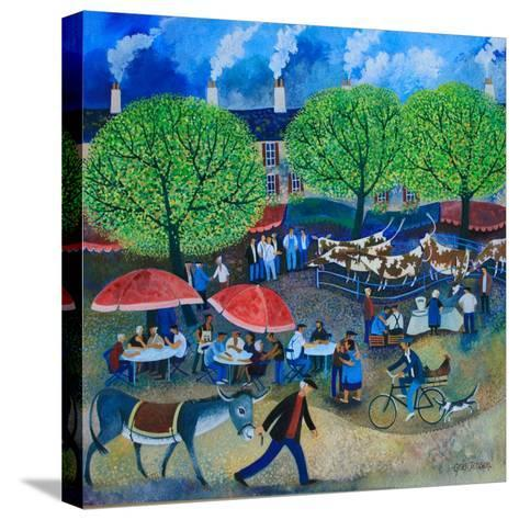 Another Market Day, 2008-Lisa Graa Jensen-Stretched Canvas Print