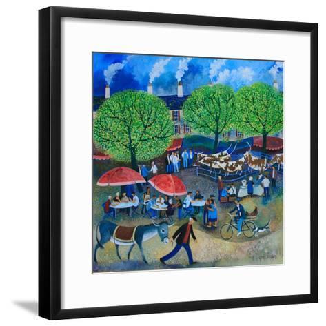 Another Market Day, 2008-Lisa Graa Jensen-Framed Art Print