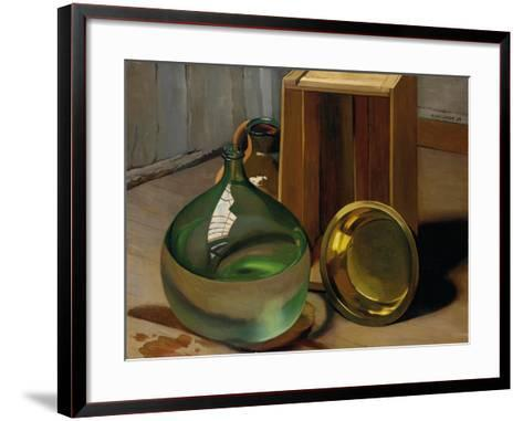 Dame-Jeanne and Caisse, 1925-F?lix Vallotton-Framed Art Print
