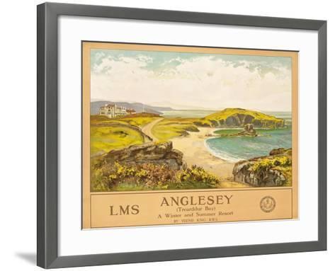 Anglesey, c.1925-Henry John Yeend King-Framed Art Print