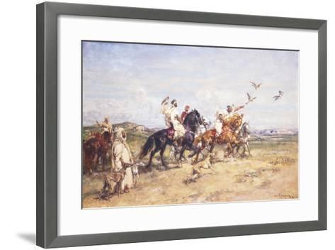 The Falcon Chase; La Chasse Au Falcon, 1923-Henri Emilien Rousseau-Framed Art Print