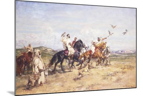 The Falcon Chase; La Chasse Au Falcon, 1923-Henri Emilien Rousseau-Mounted Giclee Print
