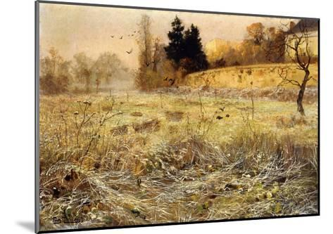 The Hoar Frost, c.1900-Fritz Thaulow-Mounted Giclee Print