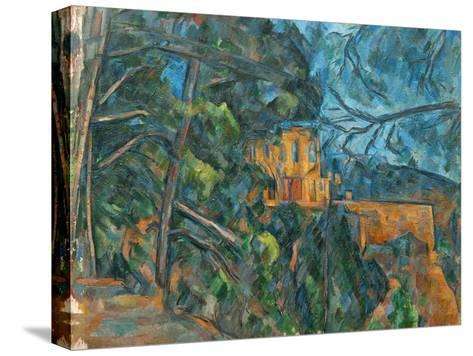 Chateau Noir, 1900-04-Paul C?zanne-Stretched Canvas Print