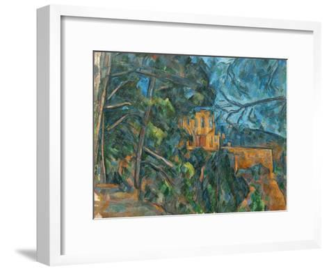 Chateau Noir, 1900-04-Paul C?zanne-Framed Art Print