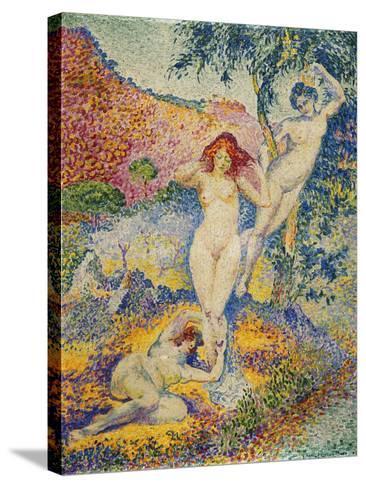 Napees, 1908-Henri Edmond Cross-Stretched Canvas Print