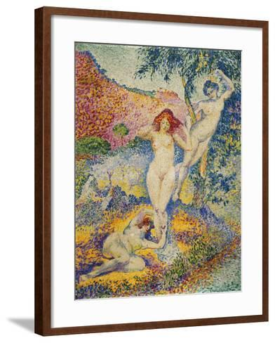 Napees, 1908-Henri Edmond Cross-Framed Art Print