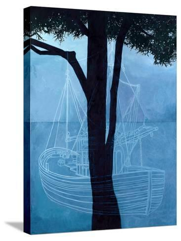 Ghost Ship One, 2012-Graham Dean-Stretched Canvas Print
