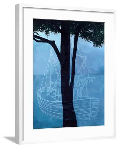 Ghost Ship One, 2012-Graham Dean-Framed Art Print