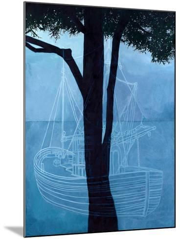 Ghost Ship One, 2012-Graham Dean-Mounted Giclee Print