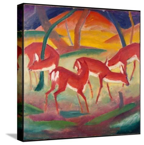 Red Deer 1, 1910-Franz Marc-Stretched Canvas Print