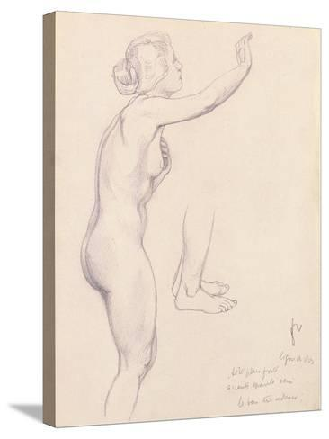 Study for Perseus and Andromeda, 1918-F?lix Vallotton-Stretched Canvas Print