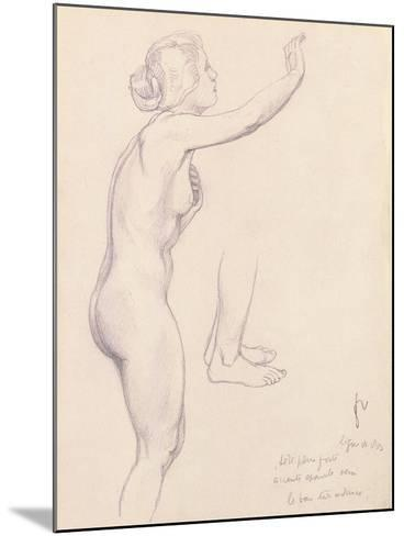 Study for Perseus and Andromeda, 1918-F?lix Vallotton-Mounted Giclee Print