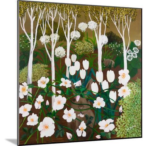 White Garden, 2013-Maggie Rowe-Mounted Giclee Print