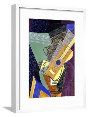 Guitar on a Table; Guitare Sur Une Table, 1916-Juan Gris-Framed Art Print