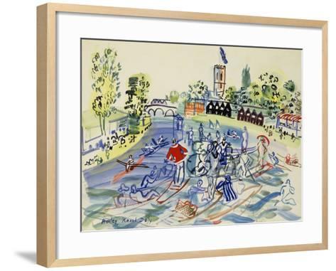 La Port de La Rochelle, 1927-Paul Signac-Framed Art Print