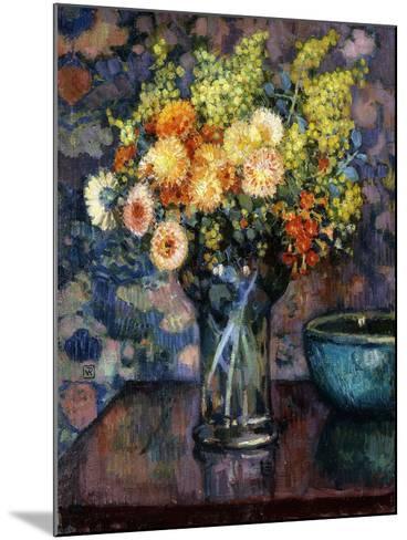 Vase of Flowers; Vase de Fleurs, c.1911-Th?o van Rysselberghe-Mounted Giclee Print