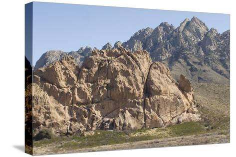 La Cueva, a Tuff Outcrop in the Igneous Organ Mountains, Southern New Mexico--Stretched Canvas Print