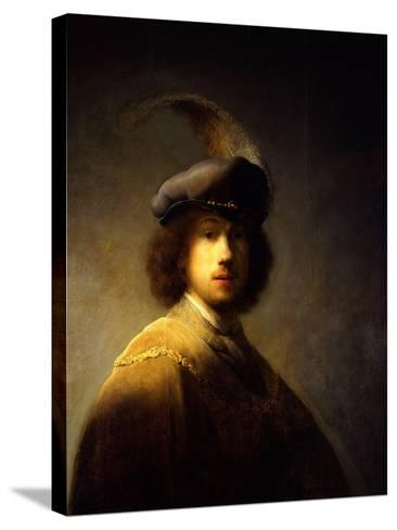 Self-Portrait, Aged 23-Rembrandt van Rijn-Stretched Canvas Print