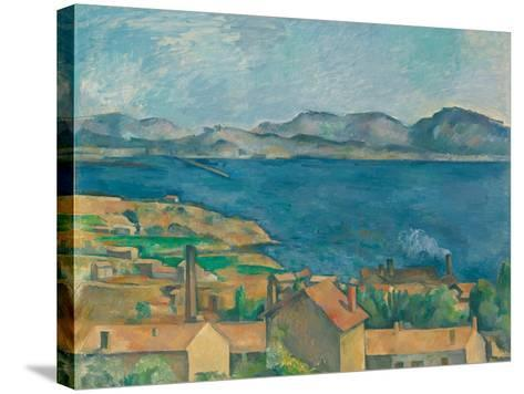 The Bay of Marseilles, Seen From L'Estaque-Paul C?zanne-Stretched Canvas Print
