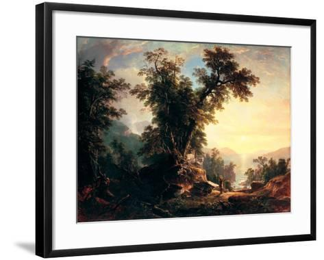 The Indian's Vespers-Asher Brown Durand-Framed Art Print
