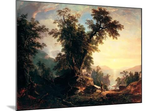 The Indian's Vespers-Asher Brown Durand-Mounted Giclee Print