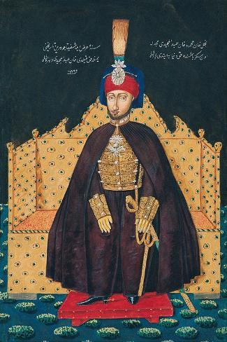 Sultan Abdulmecid I--Stretched Canvas Print