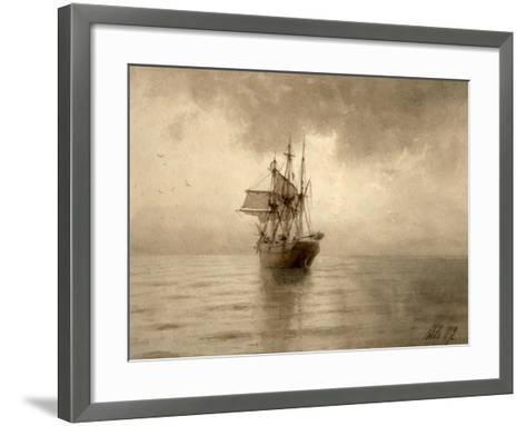 Sailing Ship-Lev Felixovich Lagorio-Framed Art Print