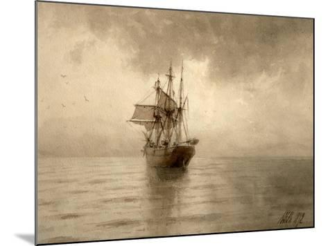 Sailing Ship-Lev Felixovich Lagorio-Mounted Giclee Print