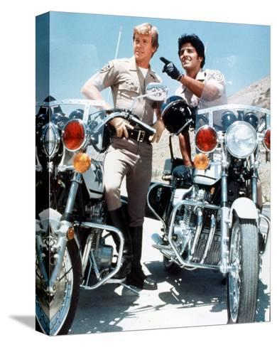 CHiPs (1977)--Stretched Canvas Print