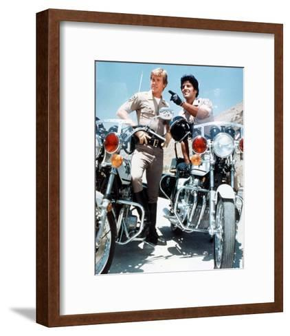 CHiPs (1977)--Framed Art Print