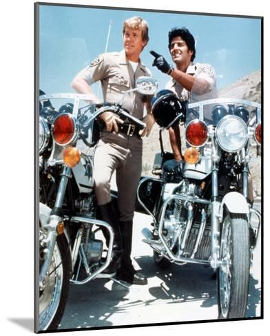 CHiPs (1977)--Mounted Photo