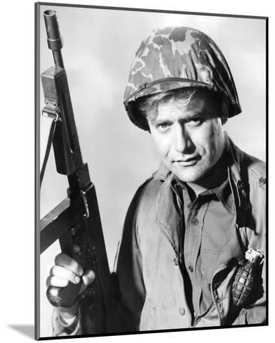 Vic Morrow, Combat! (1962)--Mounted Photo