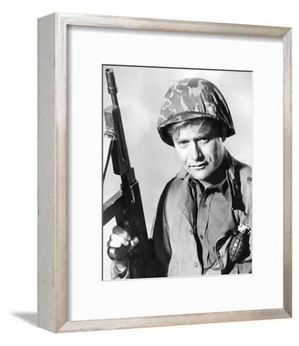 Vic Morrow, Combat! (1962)--Framed Art Print