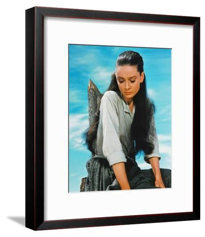 Audrey Hepburn, The Unforgiven (1960)--Framed Art Print