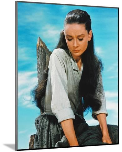 Audrey Hepburn, The Unforgiven (1960)--Mounted Photo