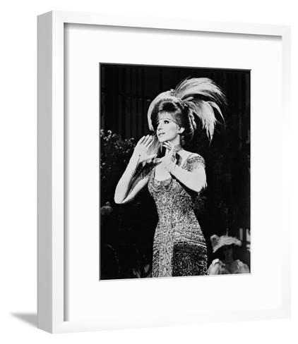 Barbra Streisand, Funny Girl (1968)--Framed Art Print