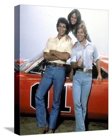 The Dukes of Hazzard--Stretched Canvas Print