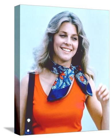 Lindsay Wagner, The Bionic Woman (1976)--Stretched Canvas Print