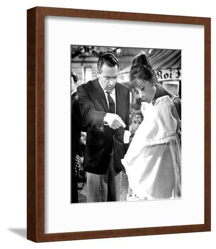 Paris - When It Sizzles (1964)--Framed Art Print