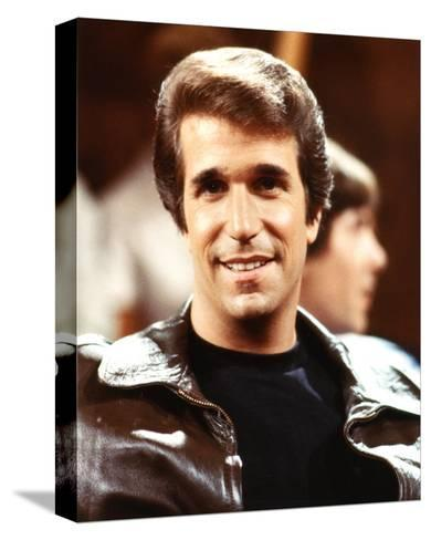 Henry Winkler, Happy Days (1974)--Stretched Canvas Print