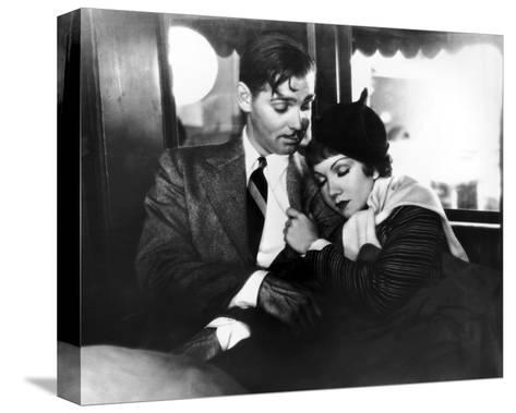 It Happened One Night--Stretched Canvas Print