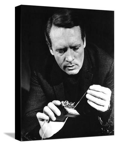 Patrick McGoohan, Danger Man (1964)--Stretched Canvas Print