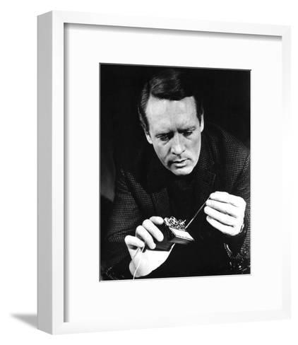 Patrick McGoohan, Danger Man (1964)--Framed Art Print