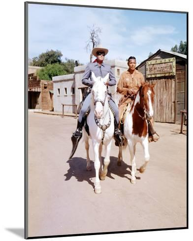 The Lone Ranger (1949)--Mounted Photo