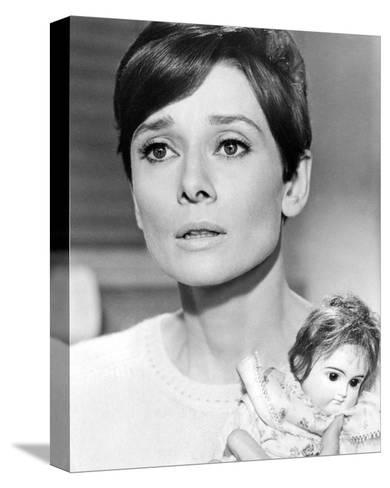 Audrey Hepburn, Wait Until Dark (1967)--Stretched Canvas Print